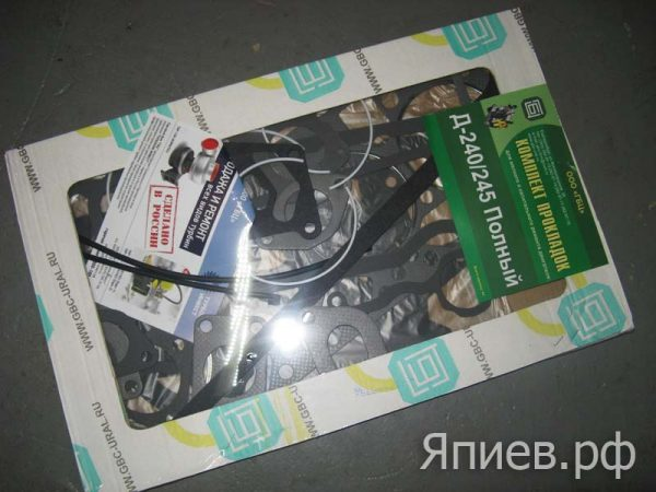 Прокладки двигателя МТЗ с ГБЦ (44 ед.) (ГБЦ), к-т