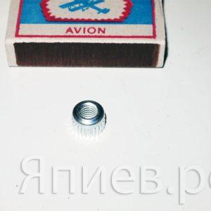 Гайка М6 Шумахер запресовочная для пятки косы (10941)