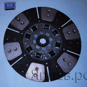 Диск сцепления лепестковой корзины МТЗ (6 лепестков; с резинками) 80-1601130-А (БЗТДиА)