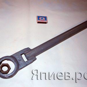 Шатун косилки (усиленный под Шумахер; без головки) (2,6 кг)