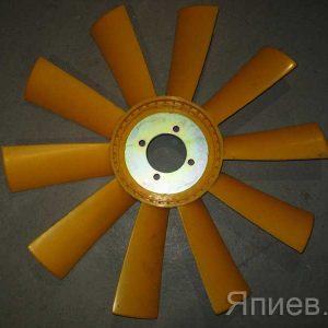 Вентилятор К-744, К-700 (НД-5) (пластик, 10 лоп.) (65*540 мм) (желт.) 236НЕ-1308012 (К) п