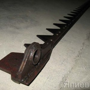 Нож косилки 2 м с головкой (фрезер. сегм.; 4,7 кг) КНБ-4-1-001 (КМЗ)