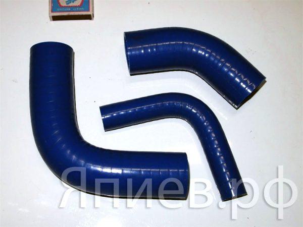 Патрубки радиатора МТЗ (силикон)  (3 шт) (синие) (РФ) пв