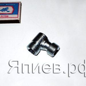 Соединитель РВД (уголок) S 24 (РФ) зг