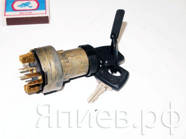 Замок зажигания МТЗ (мягкий ключ) 1202.3704-03 (РФ) ат