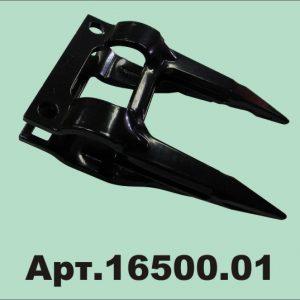 Палец двойной Шумахер 12 мм (чёрный, основной) (16500.01)