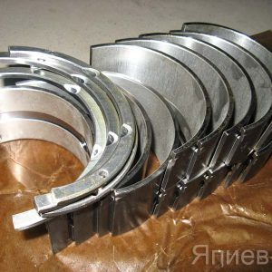 Вкладыши коренные Д-461 Р2 (вал 108 мм) (усил.) (Тамбов) зт