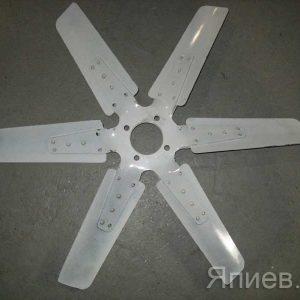 Вентилятор К-744, К-700 (НД-5) (метал., 6 лопастей) 238БЕ-1308012 (ЯЗТО) п