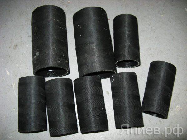 Патрубки радиатора К-700 (8 шт) (красные) (РФ) ск, к-т