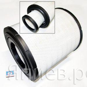 Фильтр воздушный Case-310 (h =353; d внутр.=151) AF25710/AF25711, к-т