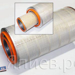 Фильтр воздушный К-744Р4 (Тутаев. дв.), Лида-1600 (h=596 мм; d наруж.=303 мм) Difa 4355МК/01, к-т