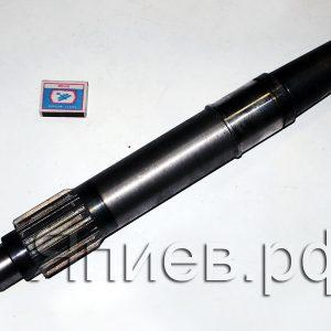 Вал сцепления Енисей длинный (435 мм, 14 шлицов) 444-2103-10 ац