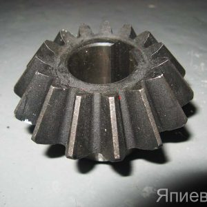 Шестерня малая коническая КР (Т - АС) на верт. вал (z=15, d=25 мм) ST180
