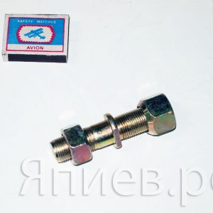 Шпилька ступицы 2ПТС-4 прав. (L=85 мм, d=18) (с гайками) (желтая) 887А-3103016-31 (К) рс