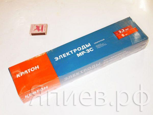 Электроды (д. 3,2 мм) Кратон (синяя пачка 5 кг), шт
