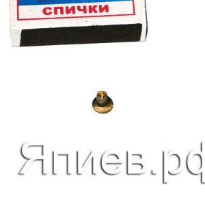 Заклёпка 4*7 на диск тормозной МТЗ (латунь) а1, шт