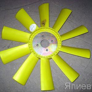 Вентилятор К-700 (пластик, 10 лоп.) (50*540 мм) (желт.) 236-1308012 (К) п