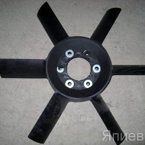 Вентилятор МТЗ 6 лопастей  (черный пластик) (412 гр.) 245-1308010 (У) аб