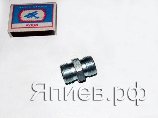 Соединитель РВД (штуцер) S 24-24 (РФ) ут