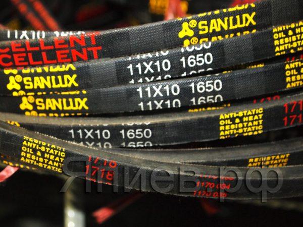 Ремень 11*10-1650 (SPA-1650) ЗИЛ-133, ЛИАЗ (EXC Sanlux)