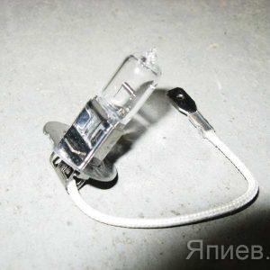 Лампа галогеновая АКГ 12-55 (Н3) (12В) (с проводом) 80513 (Восход) ат