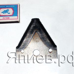 Сегмент Нива фрезерованный Н.066.02-01 крупная насечка (0,059 кг) (КМЗ)