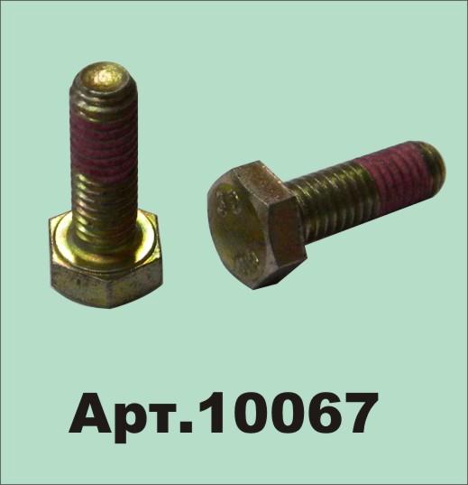 Болт М6*18 Шумахер (соединитель, пятка) (10067)