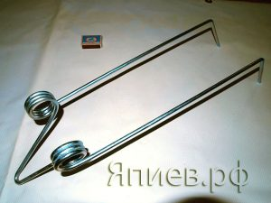 Зуб штригельной бороны Akcent 6-12 (оцинк.) 600/50-000