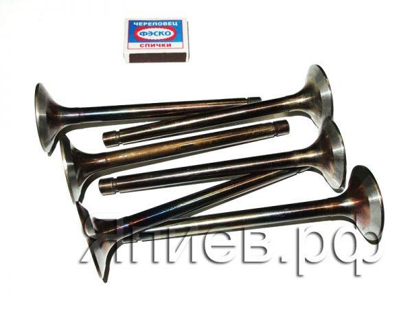 Клапаны впускные МТЗ-1221 (6 шт.) 260-1007014-А1 (Луганск) зр, к-т