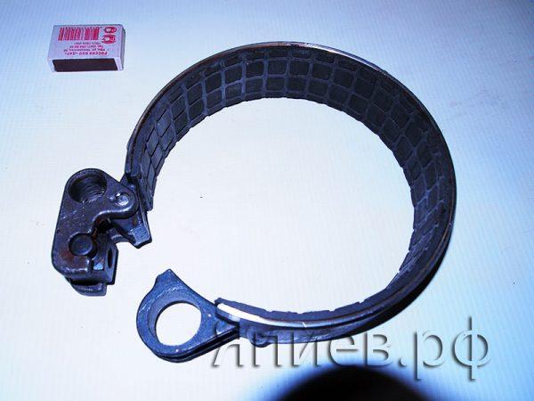 Лента ВОМ МТЗ (43 мм) (феродо) с рычагом ср. 50-4202120 (БЗТДиА) б