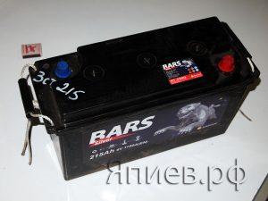 Аккумулятор 3СТ-215 (6 V) (BARS)