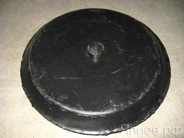 Каток СЗС гладкий (530 мм, 8,7 кг, серый)  00.370 (РЗЗ) ав