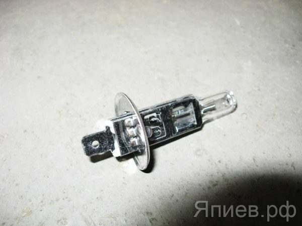 Лампа галогеновая АКГ 12-55 (Н1) (12В) (без провода) 80511 (Восход) ат