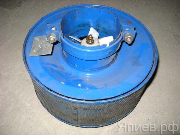 Воздухозаборник Нива вращающийся (серый) 21-12С-3 (РФ) рз