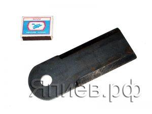 Нож соломоизмельчителя Вектор (168*60*5 мм; d=18; гладкий) 10Б.14.62.120