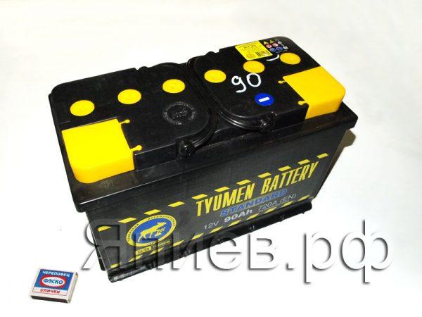 Аккумулятор 6СТ-90L (24,5 кг) (Тюмень)