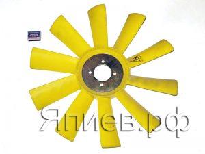Вентилятор К-744 (пластик, 10 лоп.) (65*540 мм) (желт.) 236НЕ-1308012 (К) а