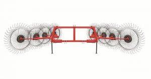 Грабли-ворошилки навесные 8-дисковые 6,1 м (Т)