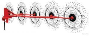 Грабли-ворошилки 5-дисковые 3,3 м (OGR)