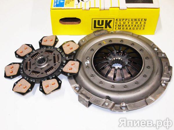 Корзина сцепления МТЗ-80, -82 лепестковая с диском 633308709 (LUK) пв