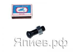 Болт + гайка крепления бича Нива, Акрос, Вектор, Дон (38 мм), к-т
