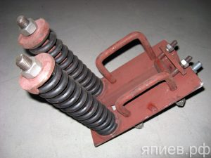 Кронштейн крепления стойки КПЭ-3,8 КТА.27.100 (РЗЗ)