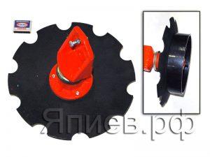 Диск маркера УПС, СЗ-5,4  в сб. (d=320 мм) (черный, ромашка) 04.120 (У) ф
