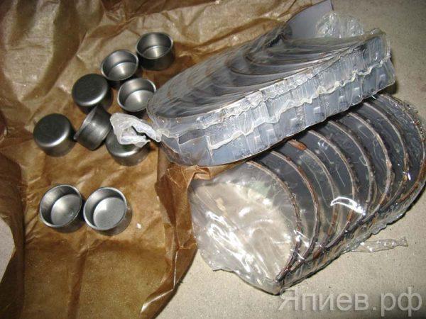 Вкладыши шатунные ЯМЗ-238 Р3 (87,25 мм) (Димитровград) мм