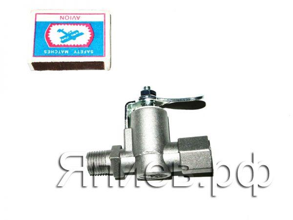 Кран топливного бака МТЗ, УАЗ (резьба прямая) КР-25 (К) а1