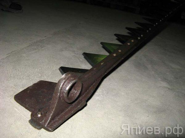 Нож косилки 2 м с головкой (фрезер. сегм.) КЗНМ 08.040 (К) рс