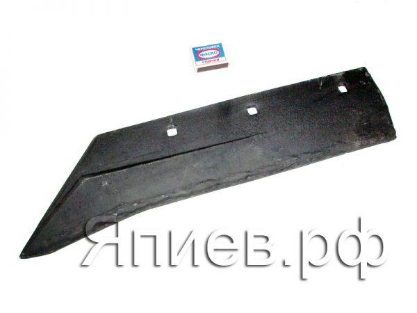 Лемех с ребром жест. (10 мм, 4,3 кг) (черный) 31.702 см