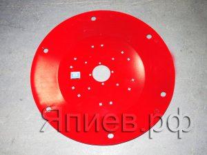 Диск рабочий (верхний) косилки 1,65 (П) (d=775 мм) (красн.) (13,5 кг)
