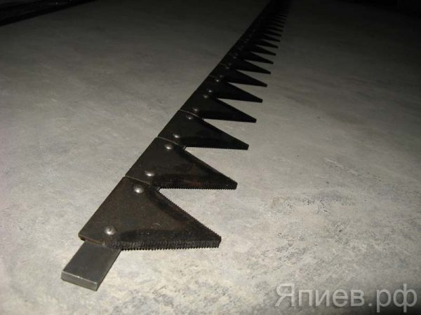 Нож косилки 2 м без головки КЗНМ 08.040 (г.Омск)