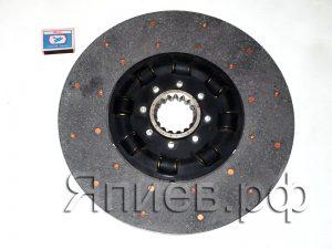 Диск сцепления Нива (СМД-20) (3,9 кг) (пружины закрыты) (стекловолокно) (DTS-К) дс